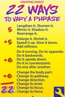 22 Ways to Vary a Phrase