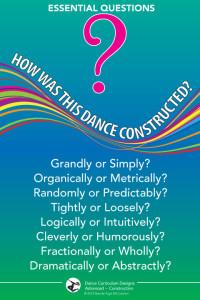 dance education, dance literacy, dance resources, dance posters