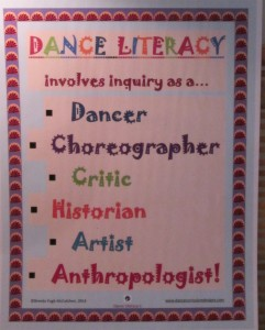Dance Literacy Poster