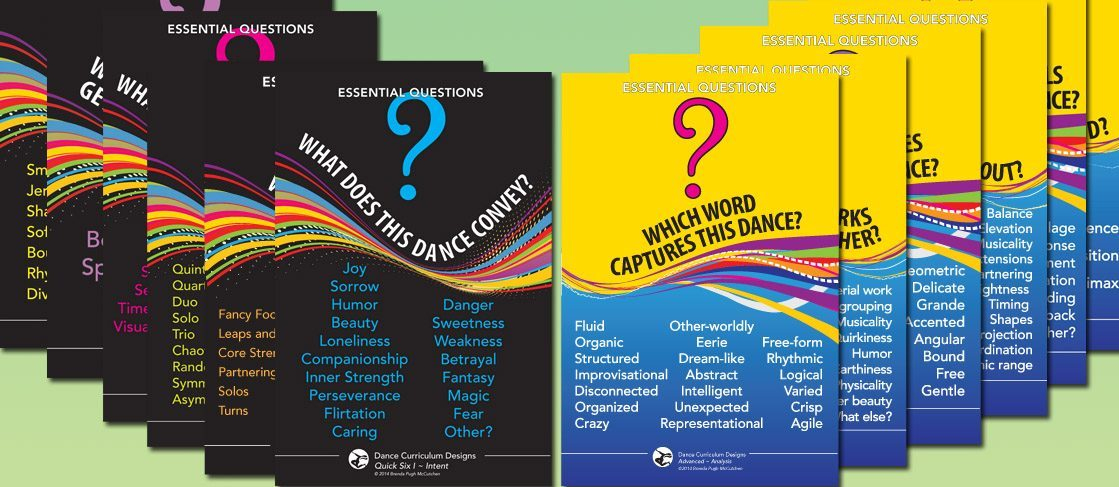 BUNDLE: Essential Questions Posters for Viewing Dance, Sets 1, 2, & 3