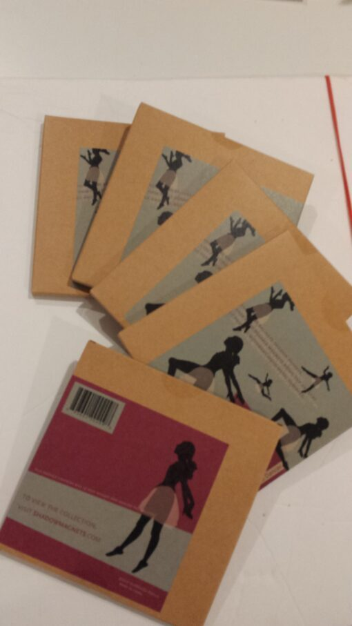 STACK: Five DEGAS DANCER magnets
