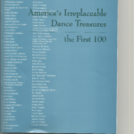 Dance Heritage Coalition Adds New Treasures to its Original List