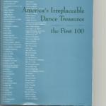 Dance Heritage Coalition Adds New Treasures to its Original List